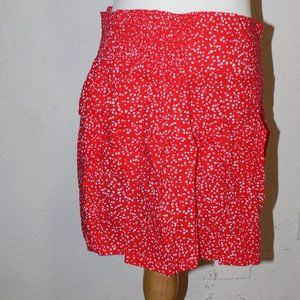 Gap Mini Skirt -Red
